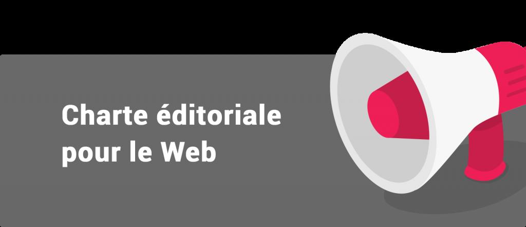 Charte éditoriale pour le Web