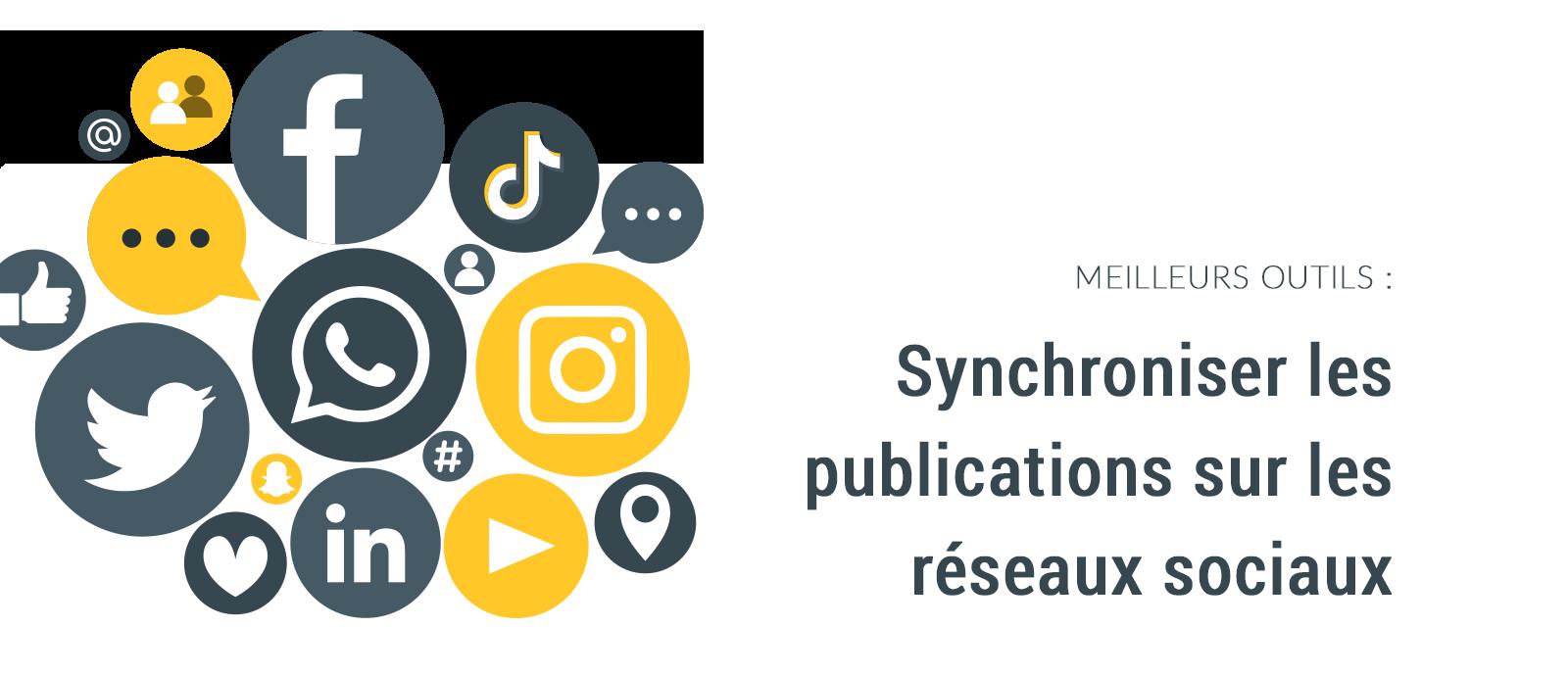 Outils pour synchroniser les publications sur les réseaux sociaux