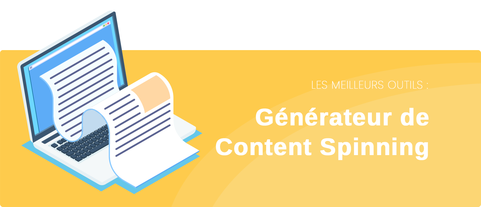 Outils de content spinning