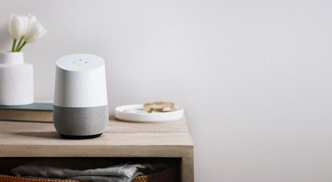 Google Home assistant vocal