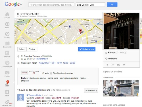 Page Google Map