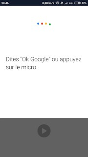 OK Google sur mobile