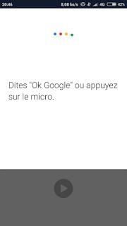 OK Google sur mobile