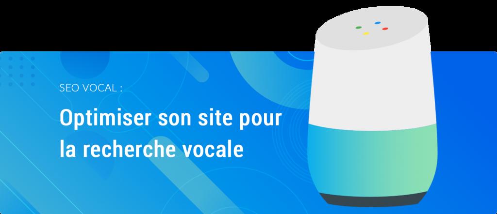 SEO vocal optimiser son site