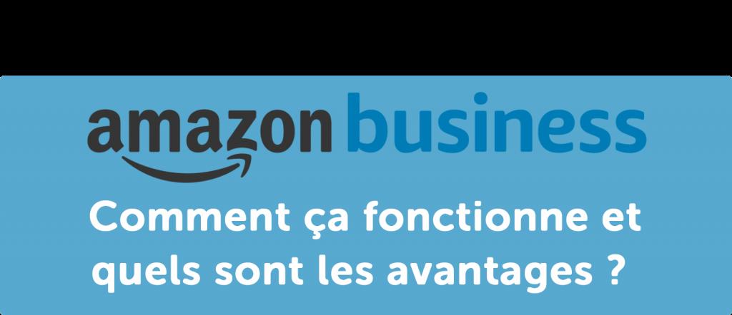 Amazon Business : comment ça fonctionne et quels sont les avantages ?