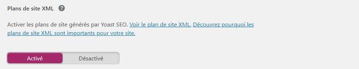 Wordpress SEO by Yoast sitemap xml