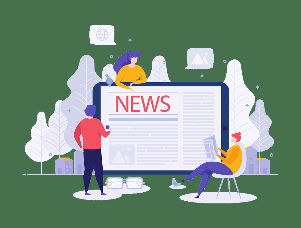 Relations presse news